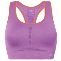 Champion Infinity Shape Seamless Bra - Women's - Purple / Orange