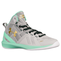 Under Armour Curry 2 - Boys' Preschool - Grey / Gold