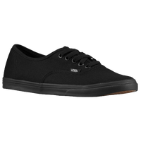 Vans Authentic Lo Pro - Women's - All Black / Black