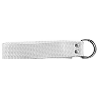 "Athletic Specialties 1"" Web Football Belt - White / White"