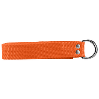 "Athletic Specialties 1"" Web Football Belt - Orange / Orange"