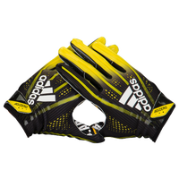 adidas Adizero 5-Star 7.0 Receiver Gloves - Men's - Black / Yellow