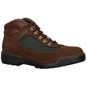 Timberland Mid Field Boots - Men's - Brown Nubuck/Olive