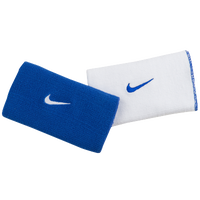Nike Dri-FIT Home & Away  Doublewide Wristbands - Men's - Blue / White