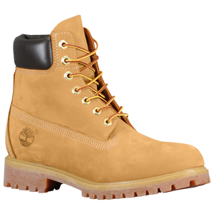 "Timberland 6"" Premium Waterproof Boots - Men's - Wheat Nubuck"