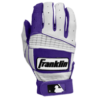 Franklin Neo Classic II Batting Gloves - Men's - Purple / White