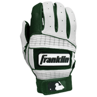 Franklin Neo Classic II Batting Gloves - Men's - Dark Green / White