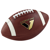 Nike Vapor One Official Game Football - Men's - Brown / White