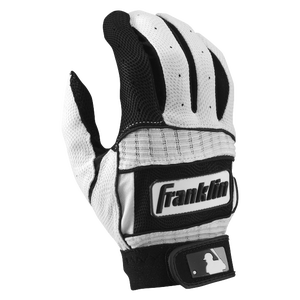 Franklin Neo Classic II Batting Gloves - Men's - Black/White