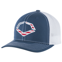 Evoshield USA Flexfit Trucker Hat - Men's - Navy / White