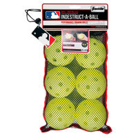 Franklin Indestruct-a-Ball Training Softballs - Youth - Yellow / Yellow
