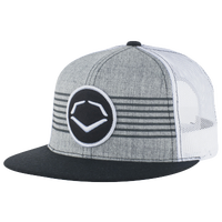 Evoshield Throwback Patch Snapback Hat - Men's - Grey / White