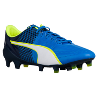 PUMA evoSPEED 1.5 FG - Men's - Blue / Light Green