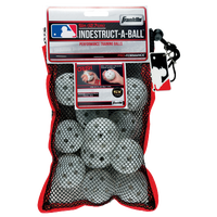 Franklin Indestruct-a-Ball Mini Training Balls - Youth - All White / White