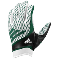 adidas adiFast Strapless Receiver Gloves - Men's - White / Dark Green