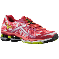 Mizuno Wave Creation 15 - Women's - Red / Light Green