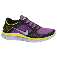 Nike Free Run + 3 - Women's - Black / Purple