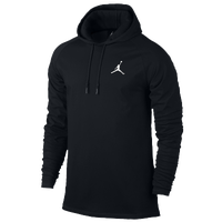 Jordan 23 True Long Sleeve Hooded Top - Men\u0026#39;s - All Black / Black