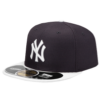 New Era MLB 59Fifty Diamond Era BP Cap - Men's - New York Yankees - Navy / White