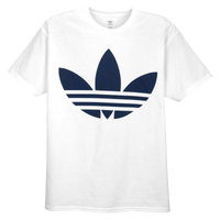 adidas Originals Graphic T-Shirt - Men's - White / Navy