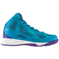 AND1 Xcelerate Mid - Men's - Light Blue / Purple