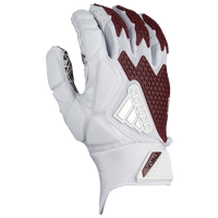 adidas Freak 3.0 Football Gloves - Men's - White / Maroon