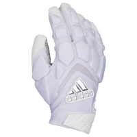 adidas Freak Max Lineman Gloves - Men's - White / Silver