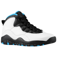 Jordan Retro 10 - Men's - White / Light Blue