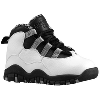 Jordan Retro 10 - Boys' Toddler - White / Black