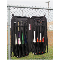 Schutt Baseball Bat Portfolio Bag - All Black / Black