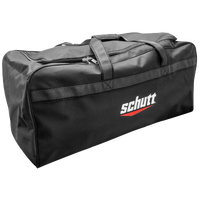 Schutt Large Team Duffle Equipment Bag - All Black / Black