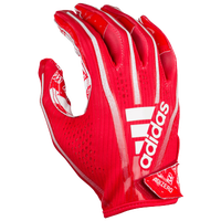 adidas Adizero 5-Star 7.0 Receiver Gloves - Boys' Grade School - Red / White