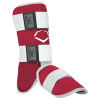 Evoshield Evocharge Batter's Leg Guard - Men's - Red / White
