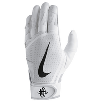 Nike Huarache Edge Batting Gloves - Men's - White / Black