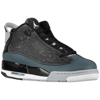 Jordan Dub Zero - Boys' Grade School - Black / White