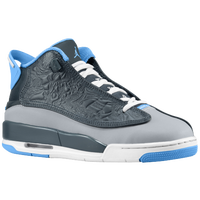 Jordan Dub Zero - Boys' Grade School - Grey / Light Blue