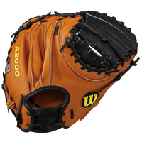 Wilson A2000 Pudge Catcher's Mitt - Men's - Brown / Black