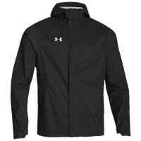 Under Armour Team Ace Rain Jacket - Men's - Black / Black
