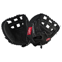 Rawlings Heart of the Hide Fastpitch Catch Mitt - Women's - Black / Red