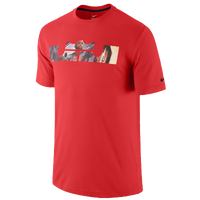Nike LeBron Logo T-Shirt - Men's - Lebron James - Red / Black