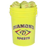 Diamond 12RFPSC .47 ASA Bucket of Softballs