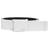 Nike Classic Essentials Web Golf Belt - Men's - White / Black