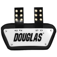 "Douglas 4"" Back Plate - Men's - White / Black"