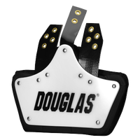 Douglas MR D Back Plate - Men's - White / Black