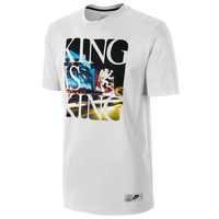 Nike LeBron Is King T-Shirt - Men's - Lebron James - White / Black