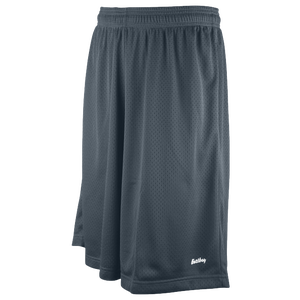 "Eastbay 11"" Basic Mesh Shorts - Men's - Charcoal Silver"