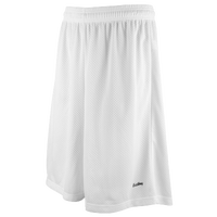 "Eastbay 11"" Basic Mesh Shorts - Men's - All White / White"