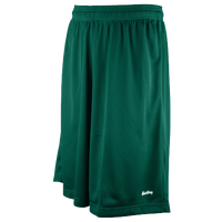 "Eastbay 11"" Basic Mesh Shorts - Men's - Green / Green"