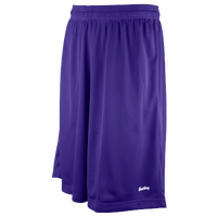 "Eastbay 11"" Basic Mesh Shorts - Men's - Purple / Purple"