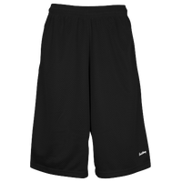 "Eastbay 13"" Mesh Short with Pockets - Men's - Black"